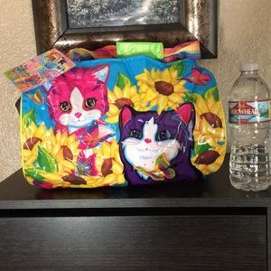 Super Rare Lisa Frank Kitten 🐱 Bag